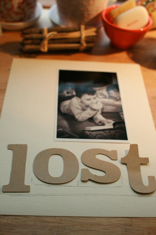 Lost-arrange