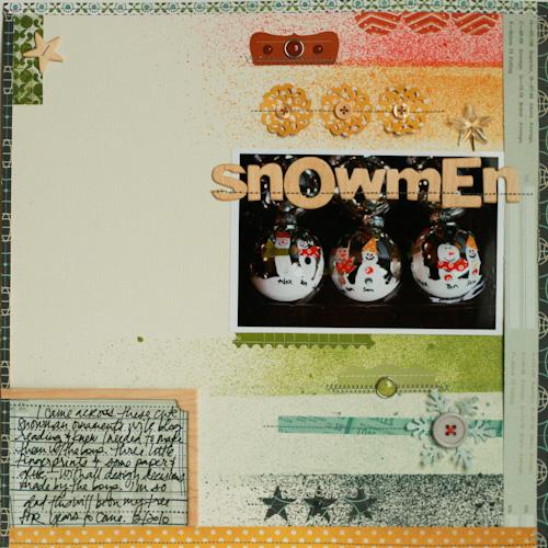 Lisa-snowmen