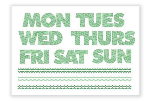 Weekdays_green
