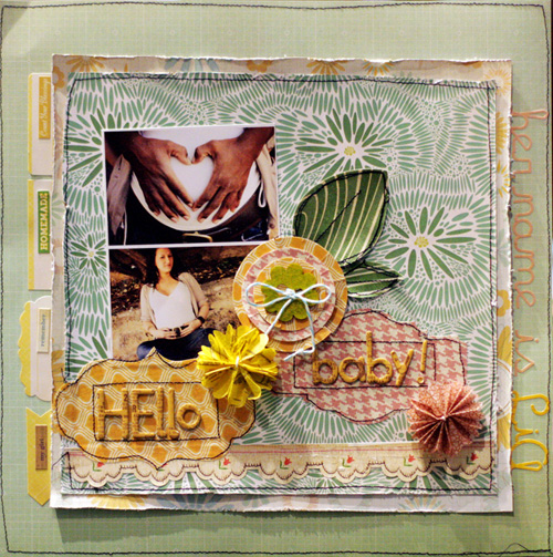 Supplies List Countryside County Line Barn Swallow Wildflower Alphas Addy Alpha Yellow Pink Chipboard Stickers Tan Fabrips