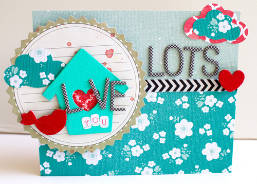 5 - lots of love card - susan weinroth