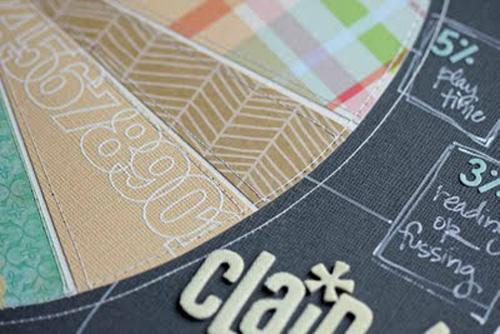 Claire's Pie Chart detail