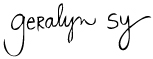 Geralynsy-signature