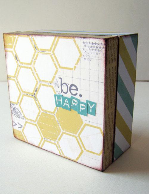 Linda-studio calico be happy box sized