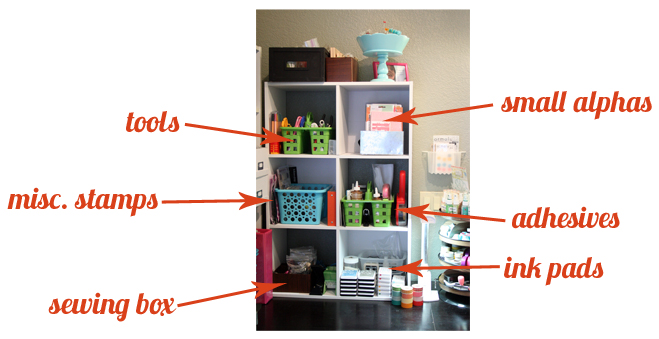 Front shelving