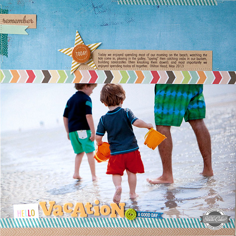 Sc blog - hello vacation layout