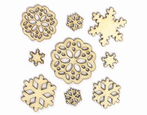 331179_WoodVeneer_Snowflakes