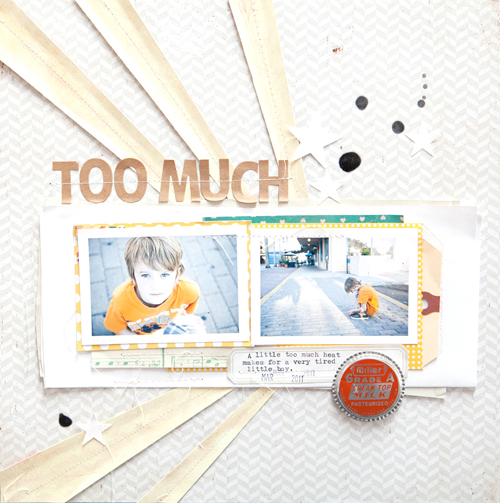 Too much - sc blog
