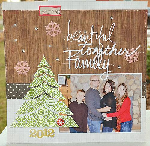 Beautiful family web copy