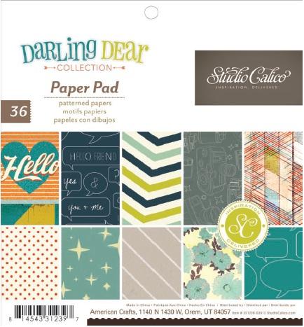 331239 6x6 paper pad