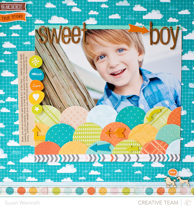 Sweet boy - here and there - susan weinroth