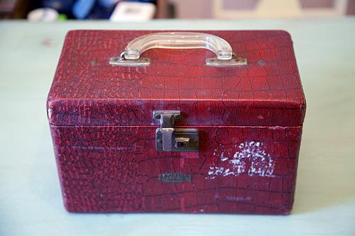 Paint suitcase