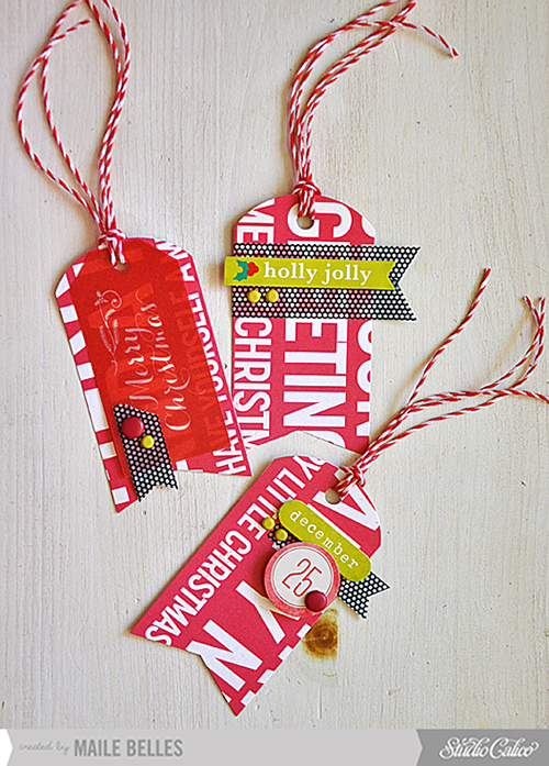 Christmas Tag Trio (Card kit & add-on 4)